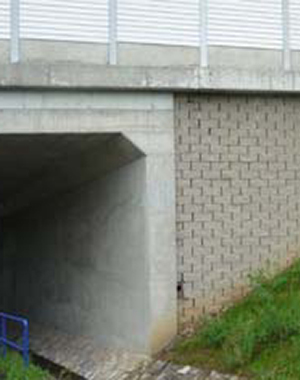 Geogrid reinforced bridge abutments