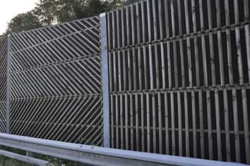 Noise barriers and bird barriers